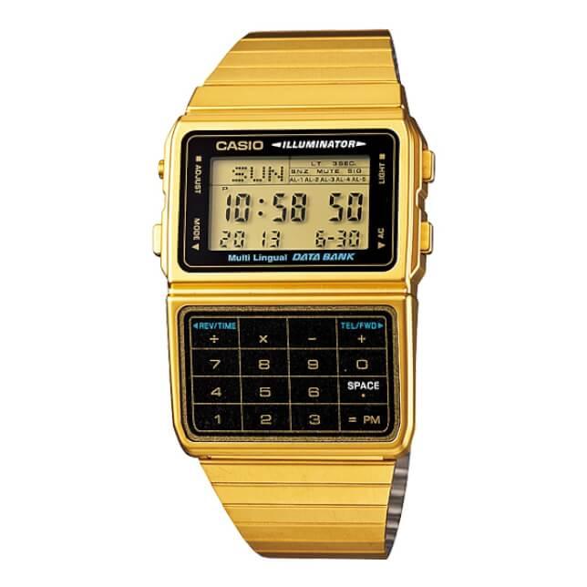 Casio DBC-611G-1DF s kalkulačkou