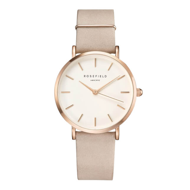 Rosefield The West Village Rosegold White / Soft Pink