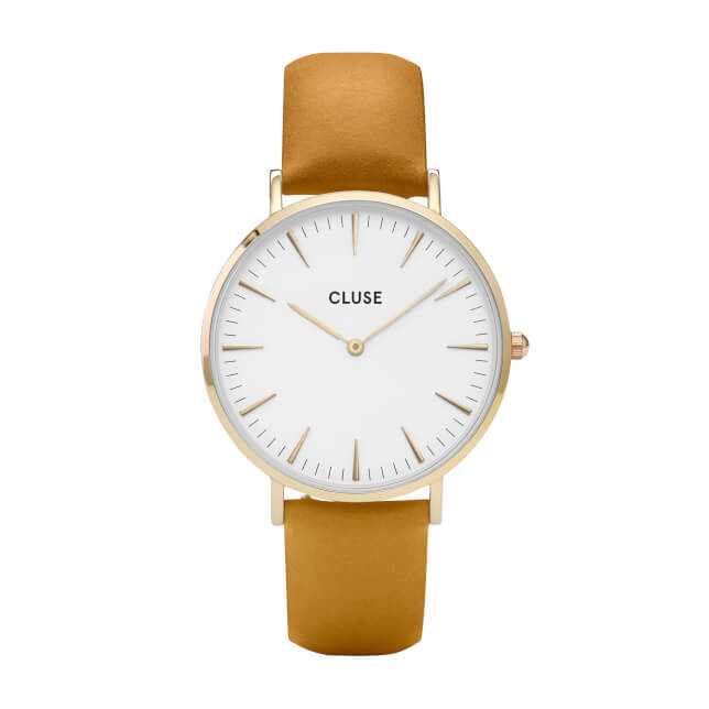 Cluse La Bohème Gold White/Mustard