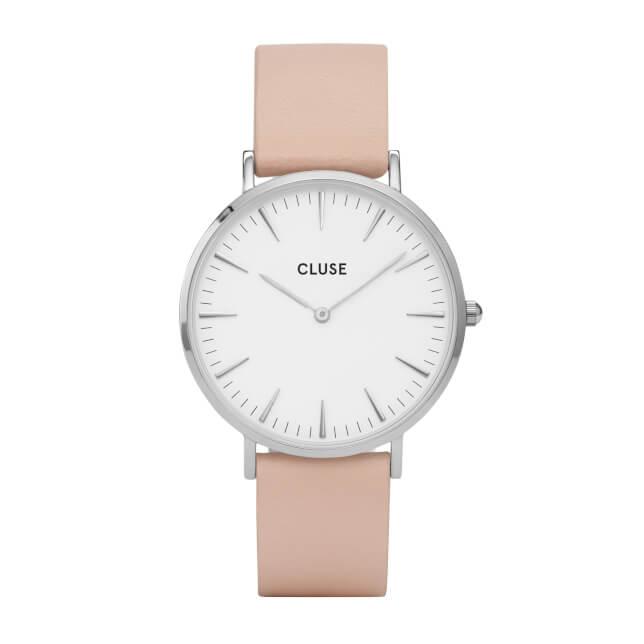 Cluse La Bohème Silver White/Nude
