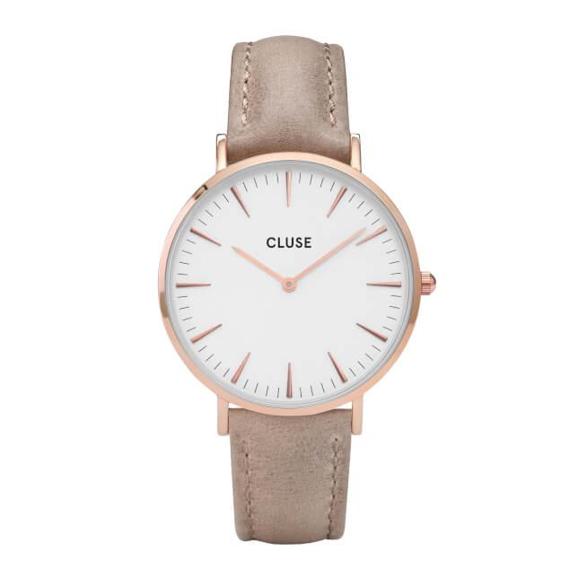 Cluse La Bohème Rose Gold White/Hazelnut