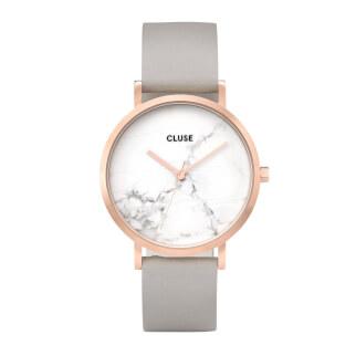 Cluse La Roche Rose Gold White Marble/Grey