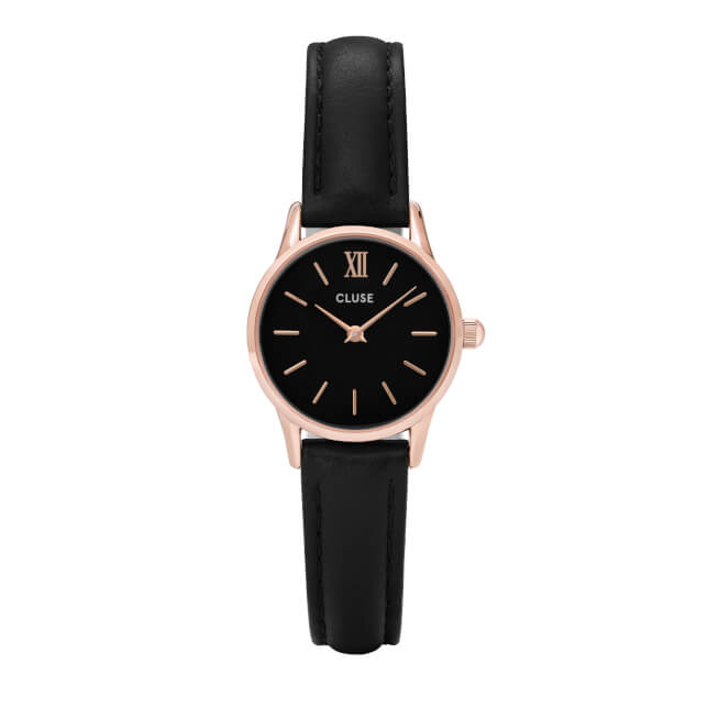 Cluse La Vedette Rose Gold Black/Black