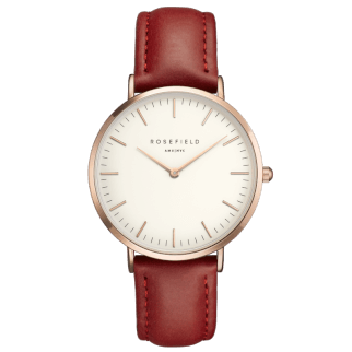 Rosefield The Bowery Rosegold White/Red