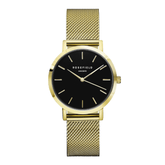 Rosefield The Tribeca Gold Black