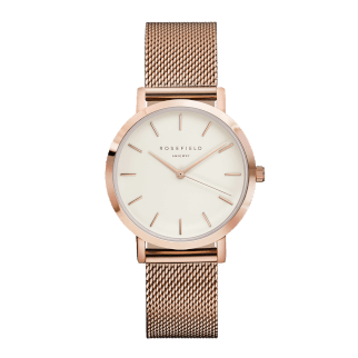 Rosefield THE TRIBECA Rosegold White