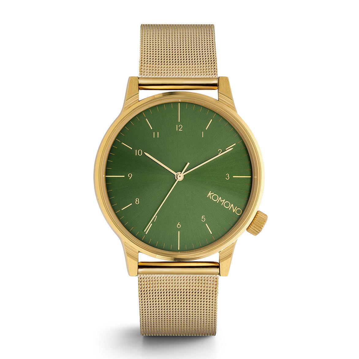 fa684213e → Komono Winston Royale Gold Green za5dvanáct