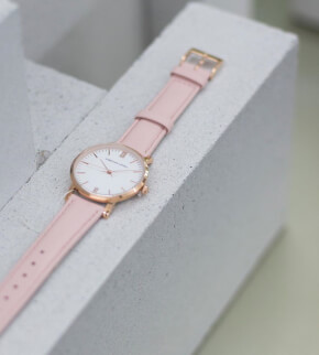 Hodinky Christian Lovell Premiere Rose Gold White Pink
