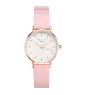 Hodinky Rosefield Premium Gloss White Pink Rosegold 26mm ... 6d62138744