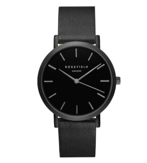 Hodinky Rosefield The Gramercy Full Black