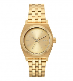 Hodinky Nixon Medium Time Teller All Gold