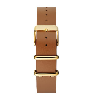 Řemínky CHPO Light Brown Nato Mini – Gold