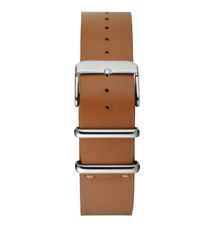 Řemínky CHPO Light Brown Nato – Silver