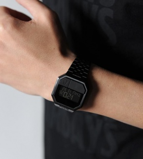 Hodinky Nixon Re-Run All Black