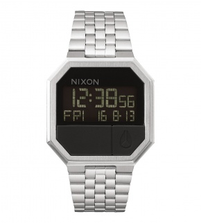 Hodinky Nixon Re-Run Black