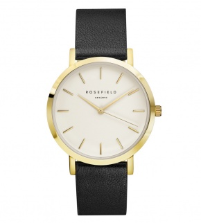 Hodinky Rosefield The Gramercy Gold White/Black