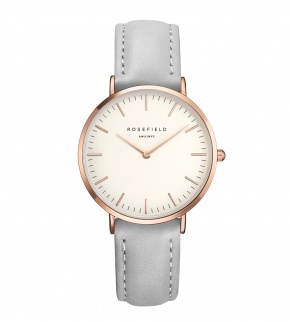 Hodinky Rosefield The Tribeca Rosegold White/Grey
