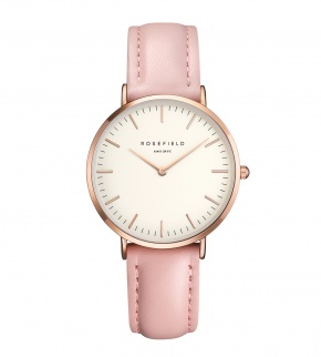 Hodinky Rosefield The Tribeca Rosegold White/Pink