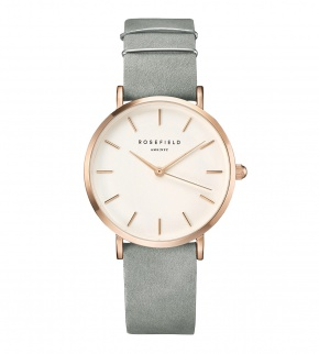 Hodinky Rosefield The West Village Rosegold White / Mint Grey