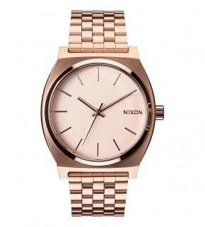 Hodinky Nixon Time Teller All Rose Gold