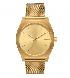Hodinky Nixon Time Teller Milanese All Gold