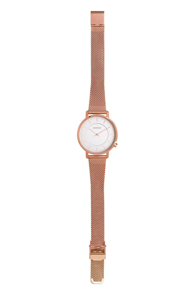 Harlow Rose Gold Mesh