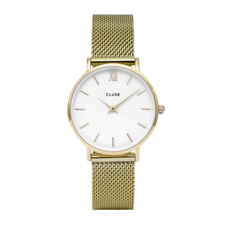 Minuit Mesh Gold/White