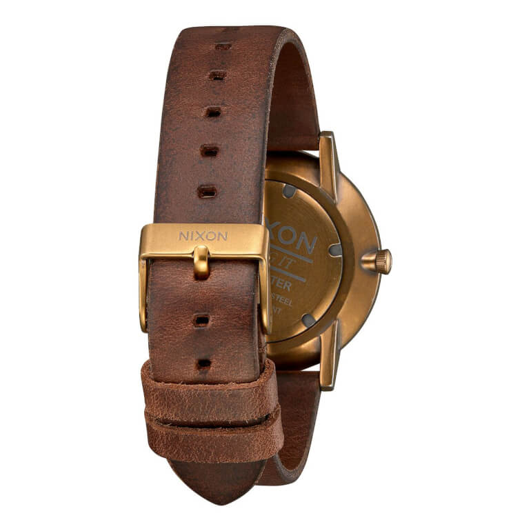 Porter Leather Brass / Black / Brown