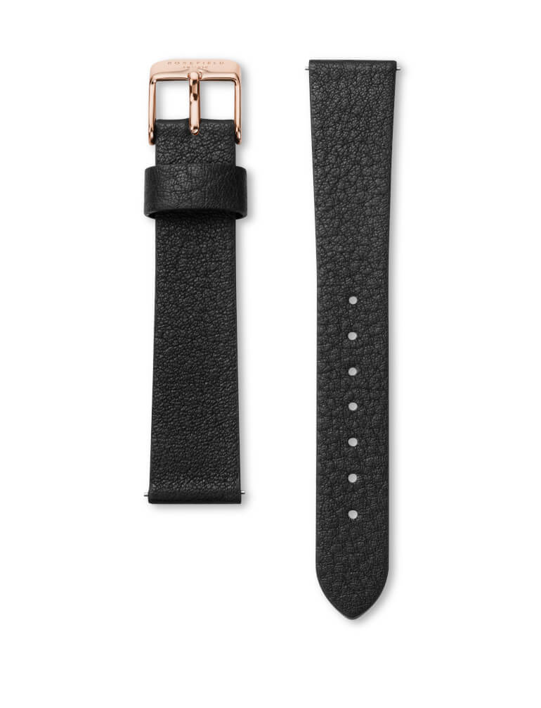 The Boxy Black Black Rosegold