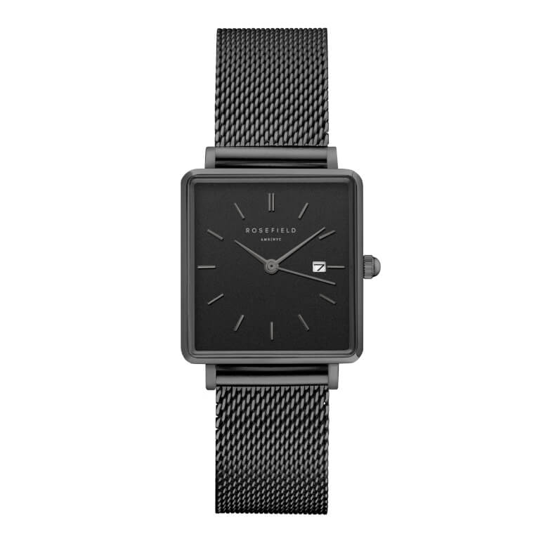The Boxy Black Mesh Black