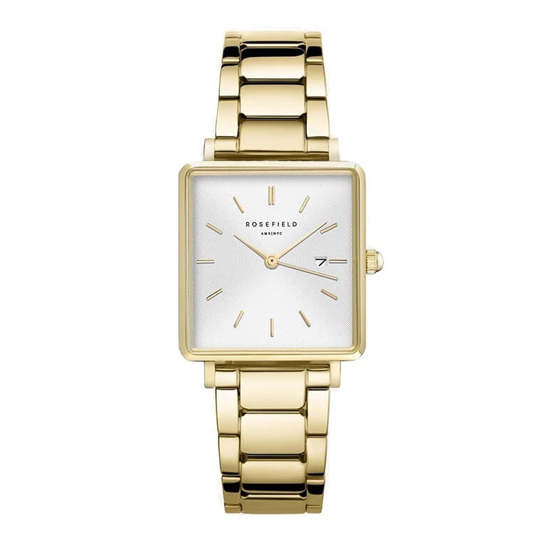 The Boxy White Sunray Steel Gold QWSG-Q041