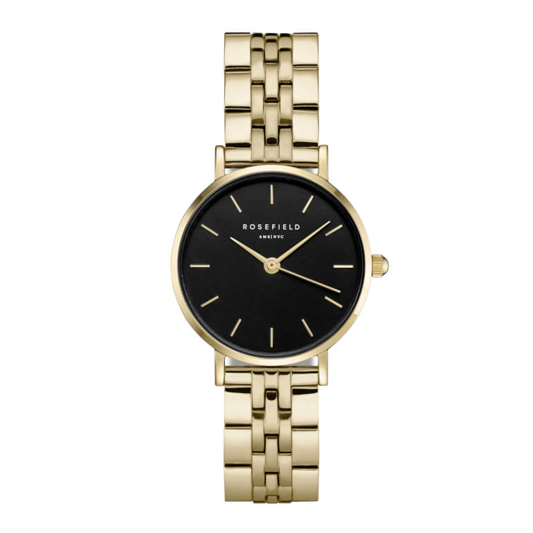 The Small Edit Black Steel Gold 26mm