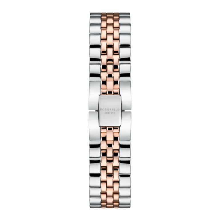 The Small Edit White Steel Silver Rosegold Duo 26mm