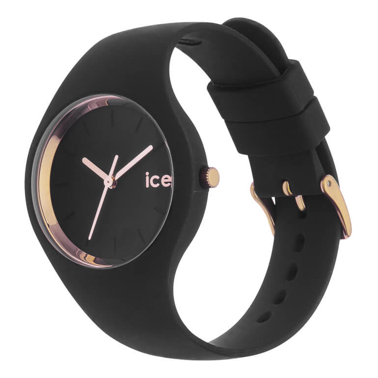 ICE glam Black Rose-Gold Small