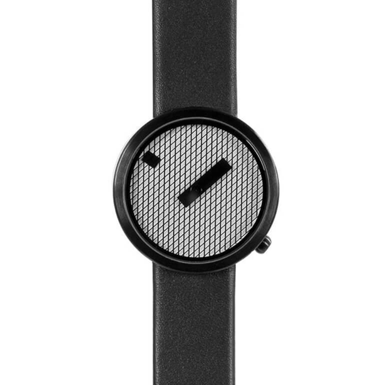 Jacquard Black 39mm Leather