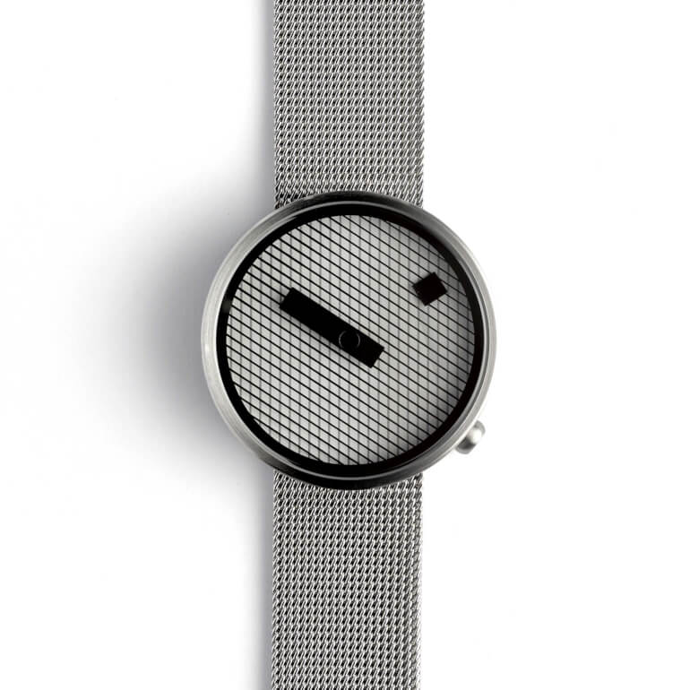 Jacquard Steel 39mm Mesh