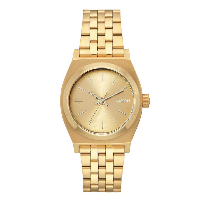 Nixon Medium Time Teller All Gold