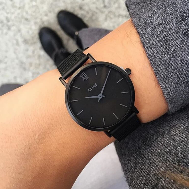 Minuit Mesh Full Black