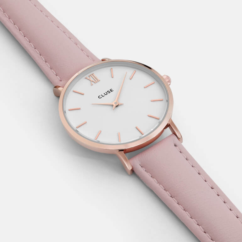 Minuit Rose Gold White/Pink