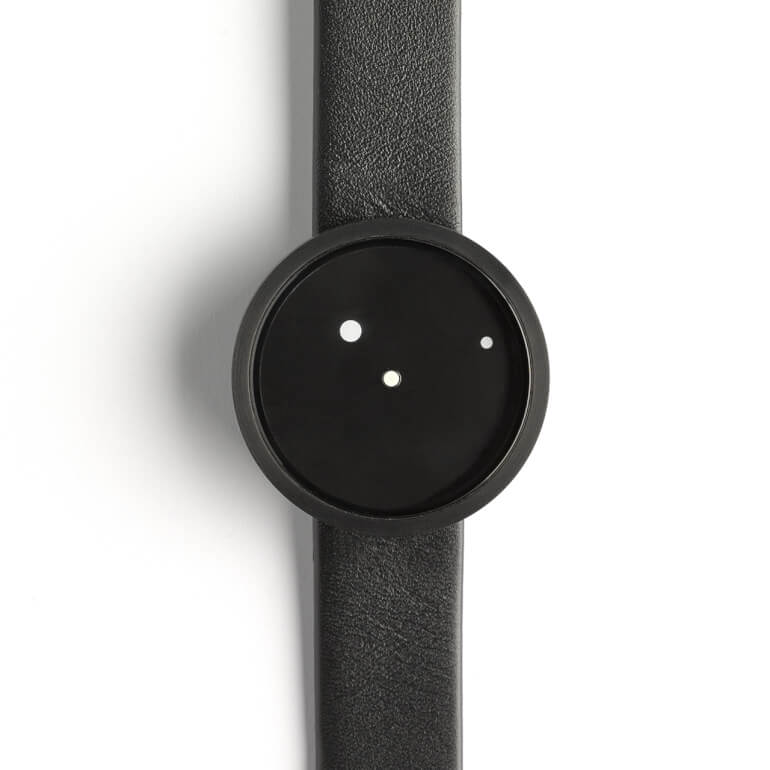 Ora Lattea Nero 36mm