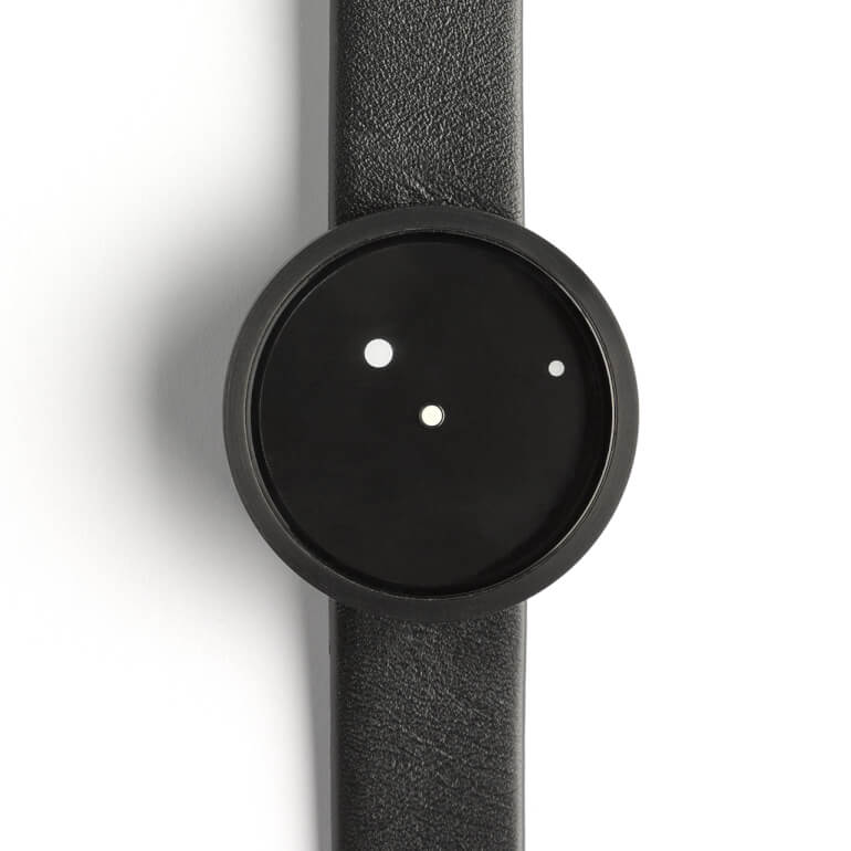 Ora Lattea Nero 42mm