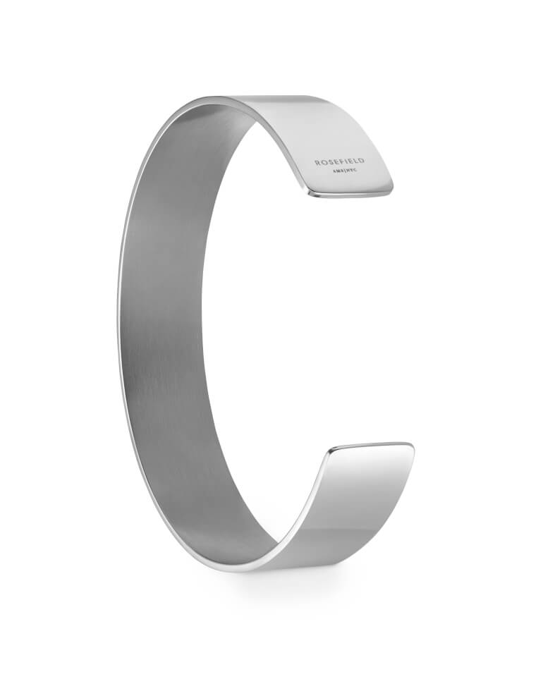 náramek Lois Bar Bangle Silver