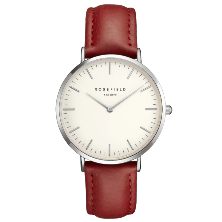 The Bowery Silver White/Red
