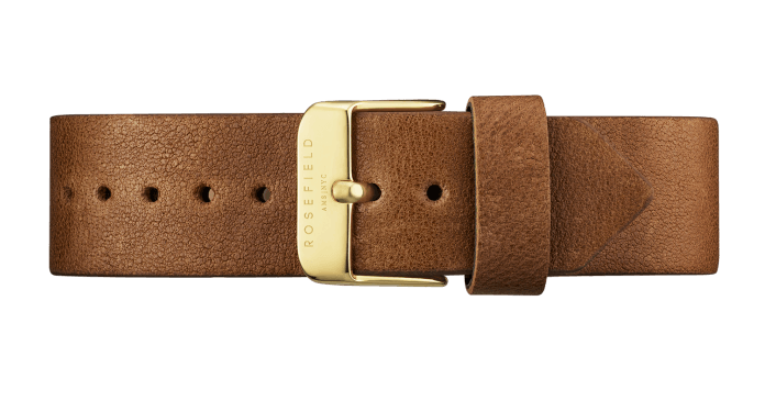 The Gramercy Gold White/Brown