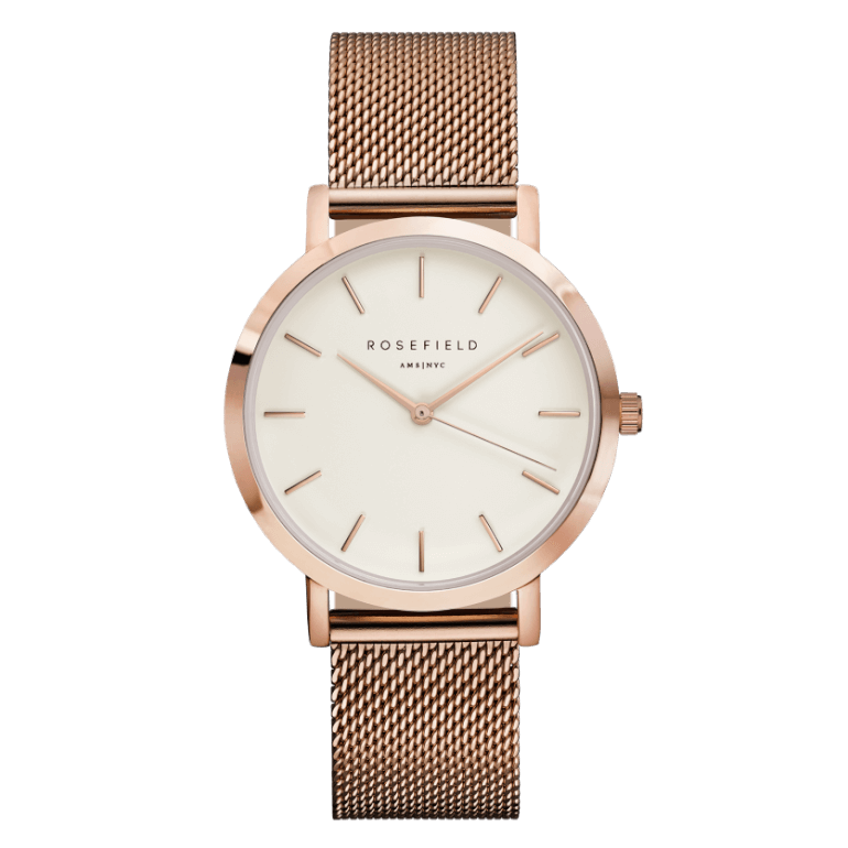 THE MERCER Rose Gold White