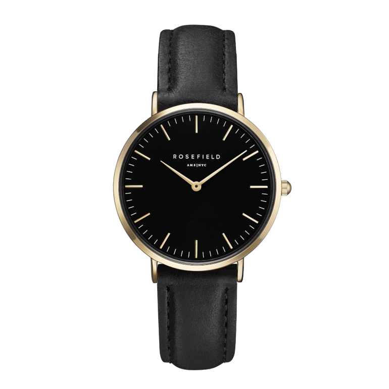 The Tribeca Gold Black/Black