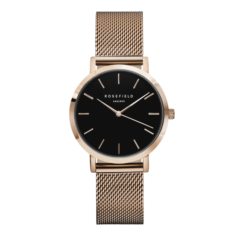 THE TRIBECA Rose Gold Black