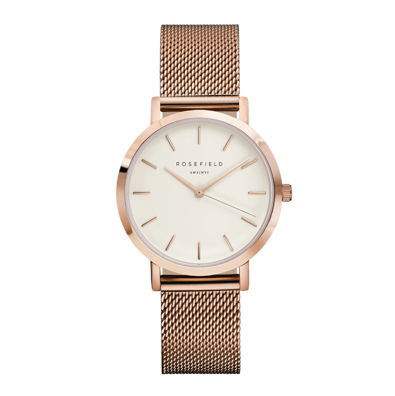 The Tribeca Rosegold White