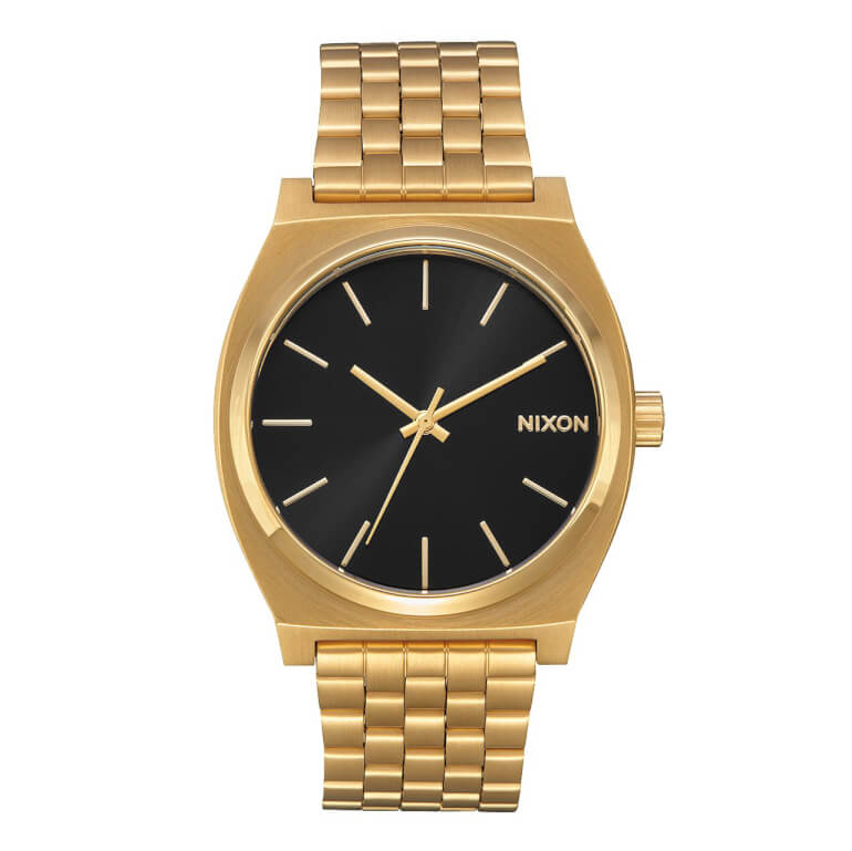Nixon Time Teller All Gold / Black Sunray