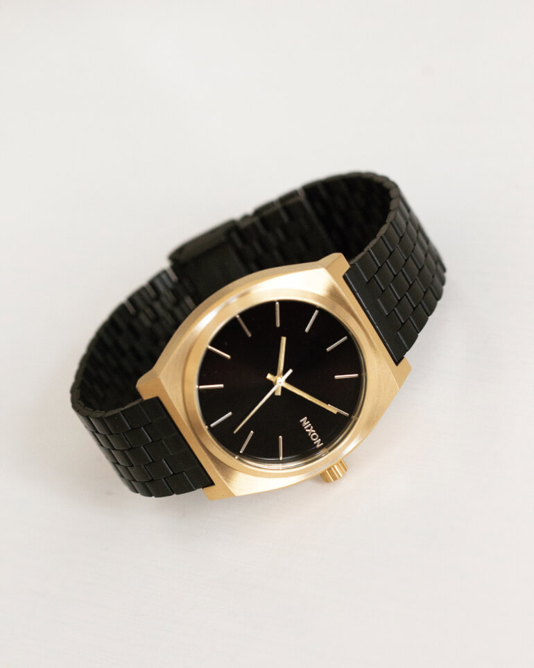 Time Teller Gold / Black Sunray
